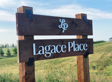 Lagace Place sign